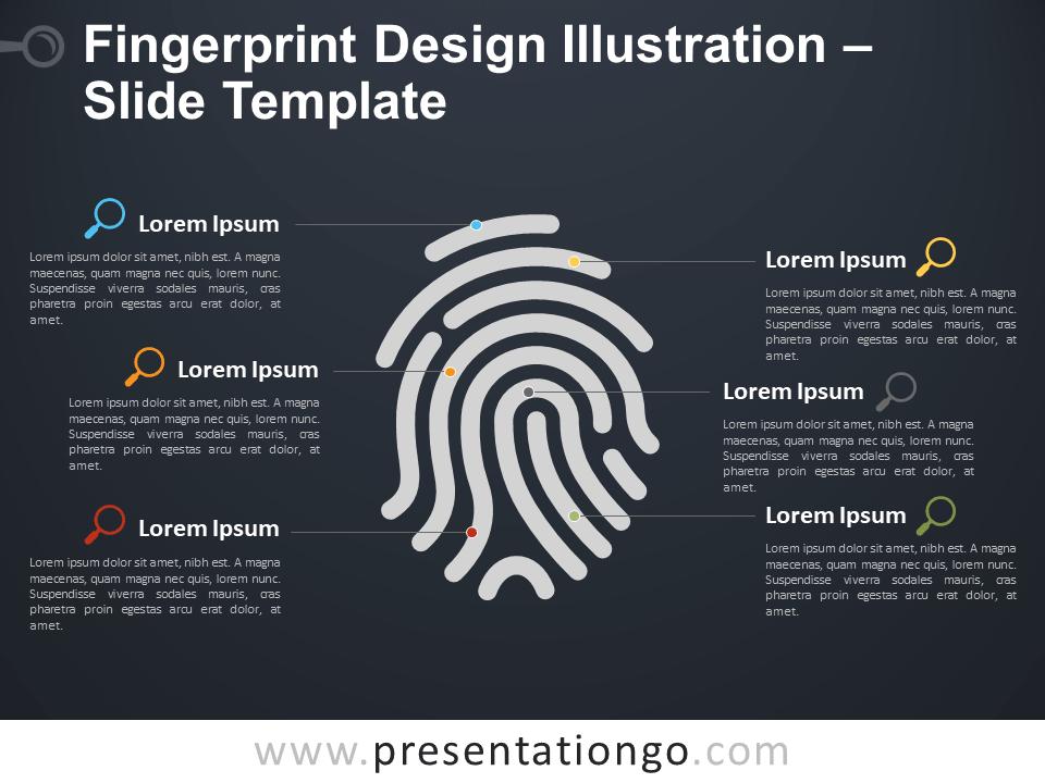 Free Fingerprint Template for Presentation