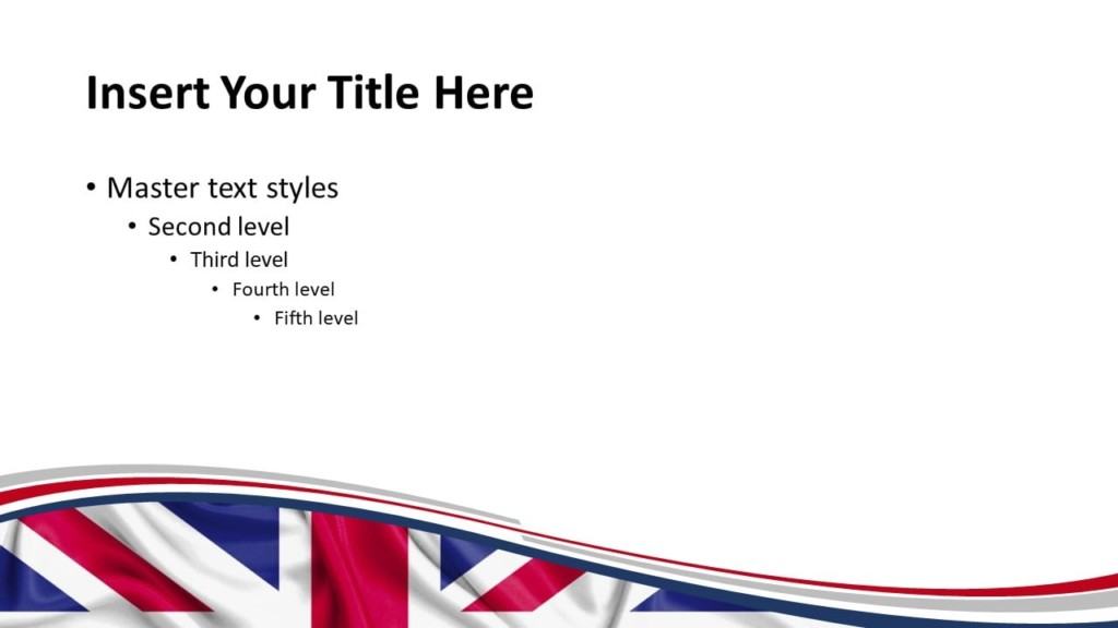 UK Flag PowerPoint and Google Slides Template - Slide 2
