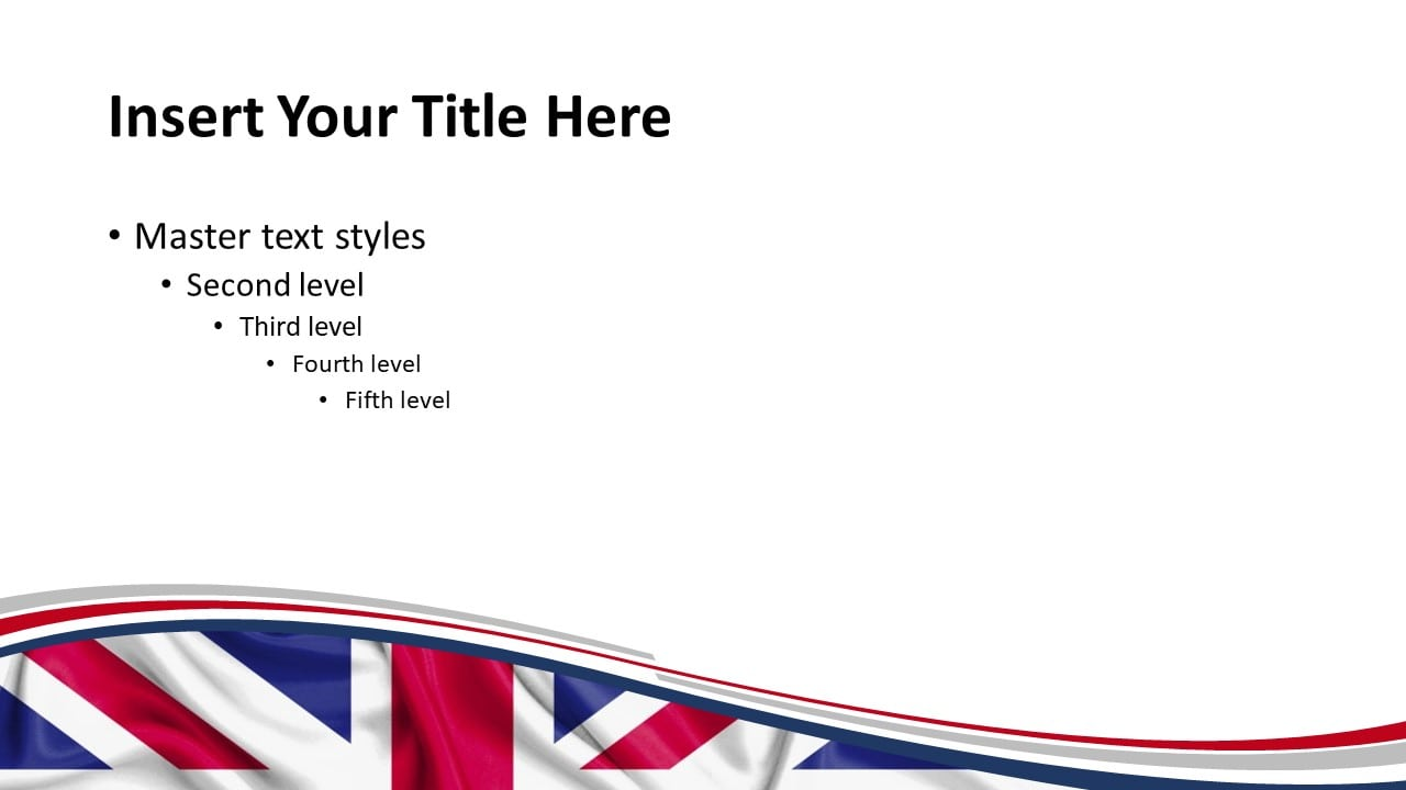 UK Flag PowerPoint and Google Slides Template - Slide 2