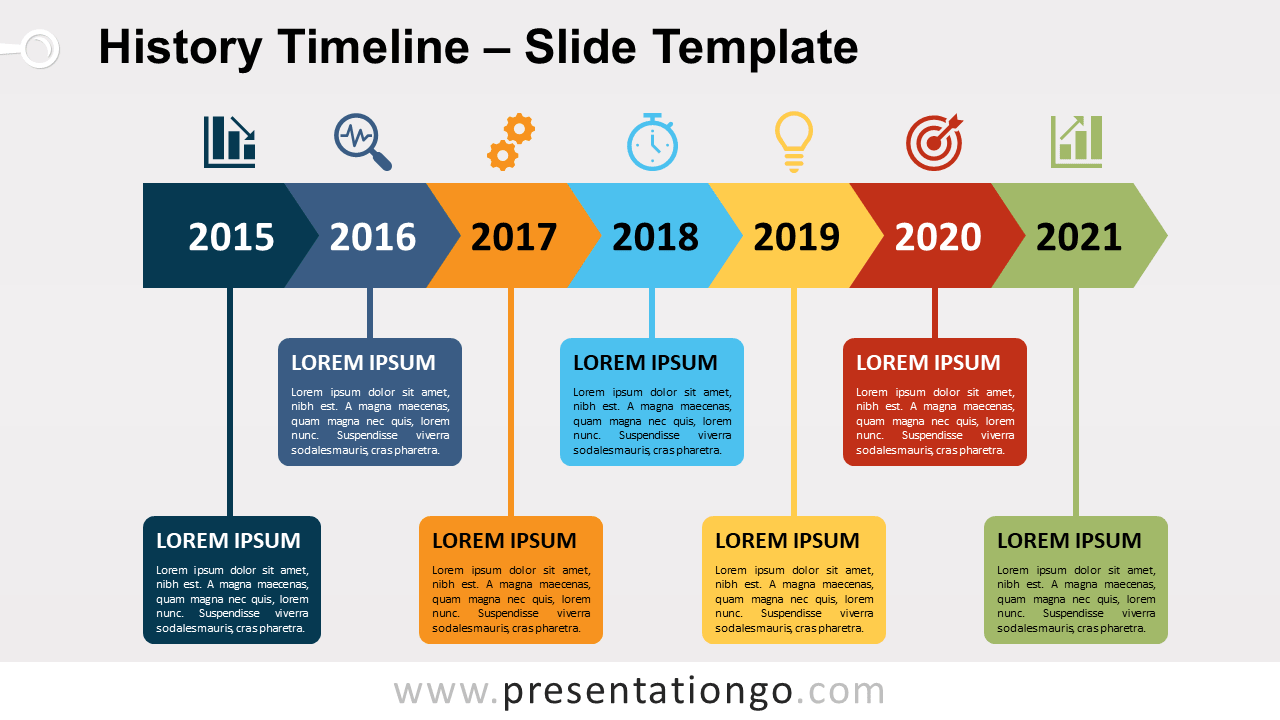 Free History Timeline for PowerPoint and Google Slides