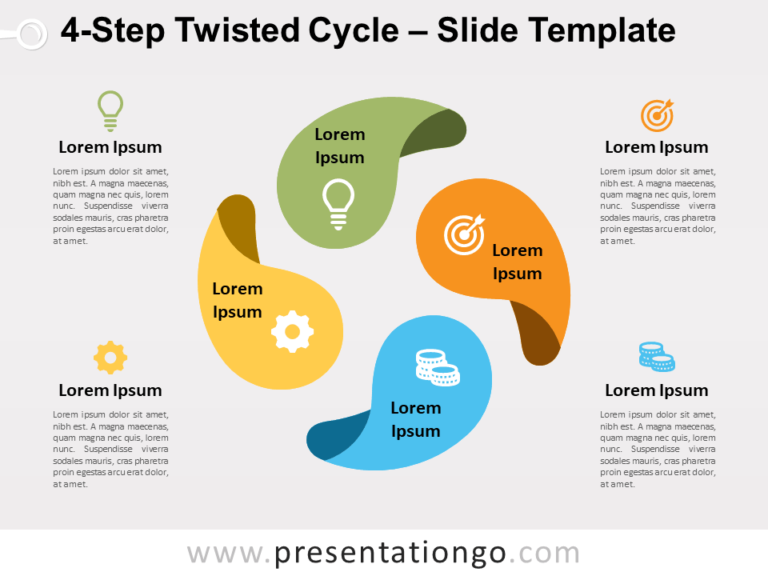 Free 4-Step Twisted Cycle Slide Template