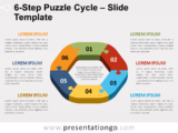 Free 6-Step Puzzle Cycle Slide Template
