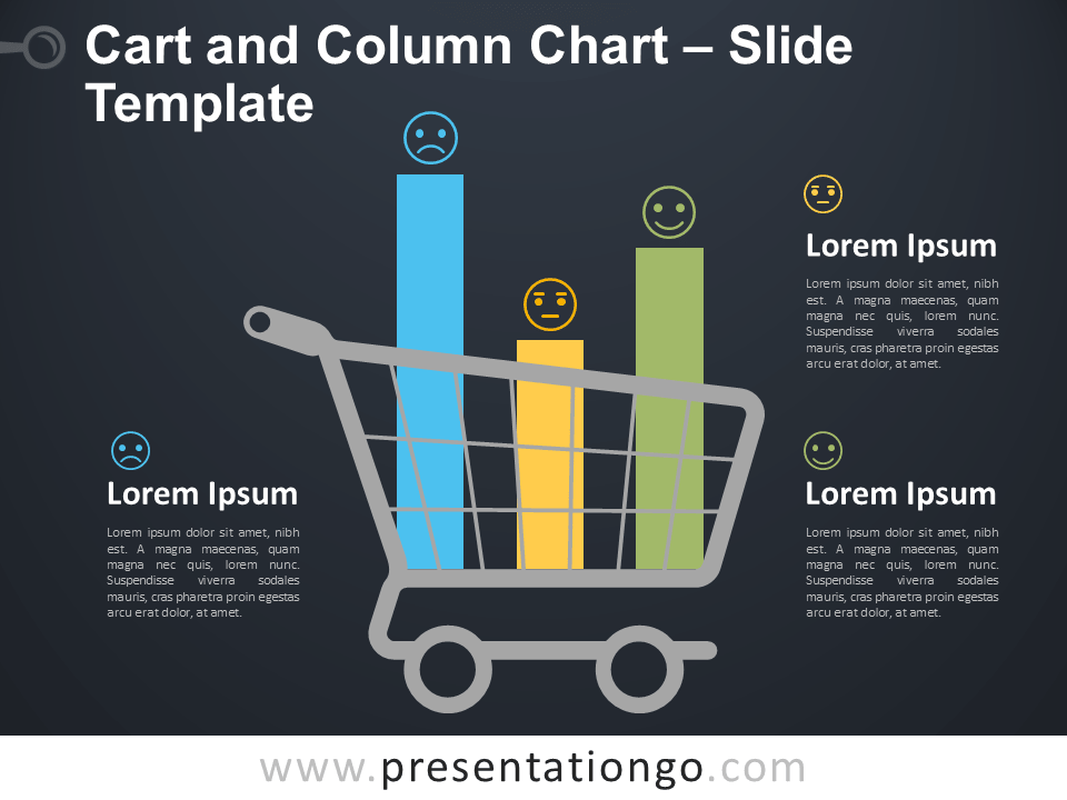 Free Cart and Column Chart