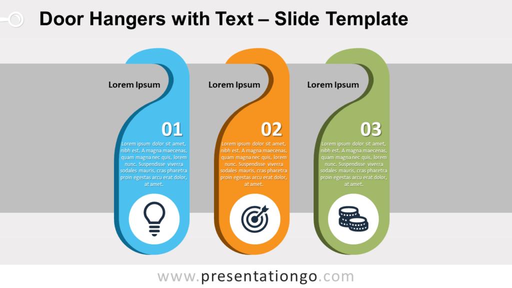 Free Door Hangers for PowerPoint and Google Slides