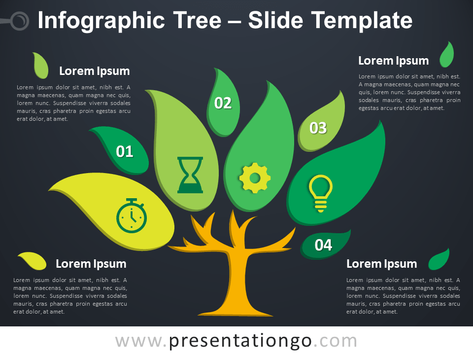 Free Infographic Tree Template