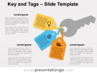 Free Key and Tags Slide Template