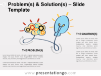 Free Problems and Solutions Slide Template