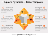 Free Square Pyramids Slide Template