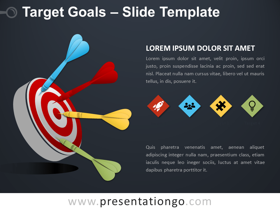 Target and Goals Template