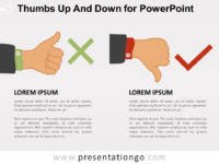 Free Thumbs Up and Down for PowerPoint