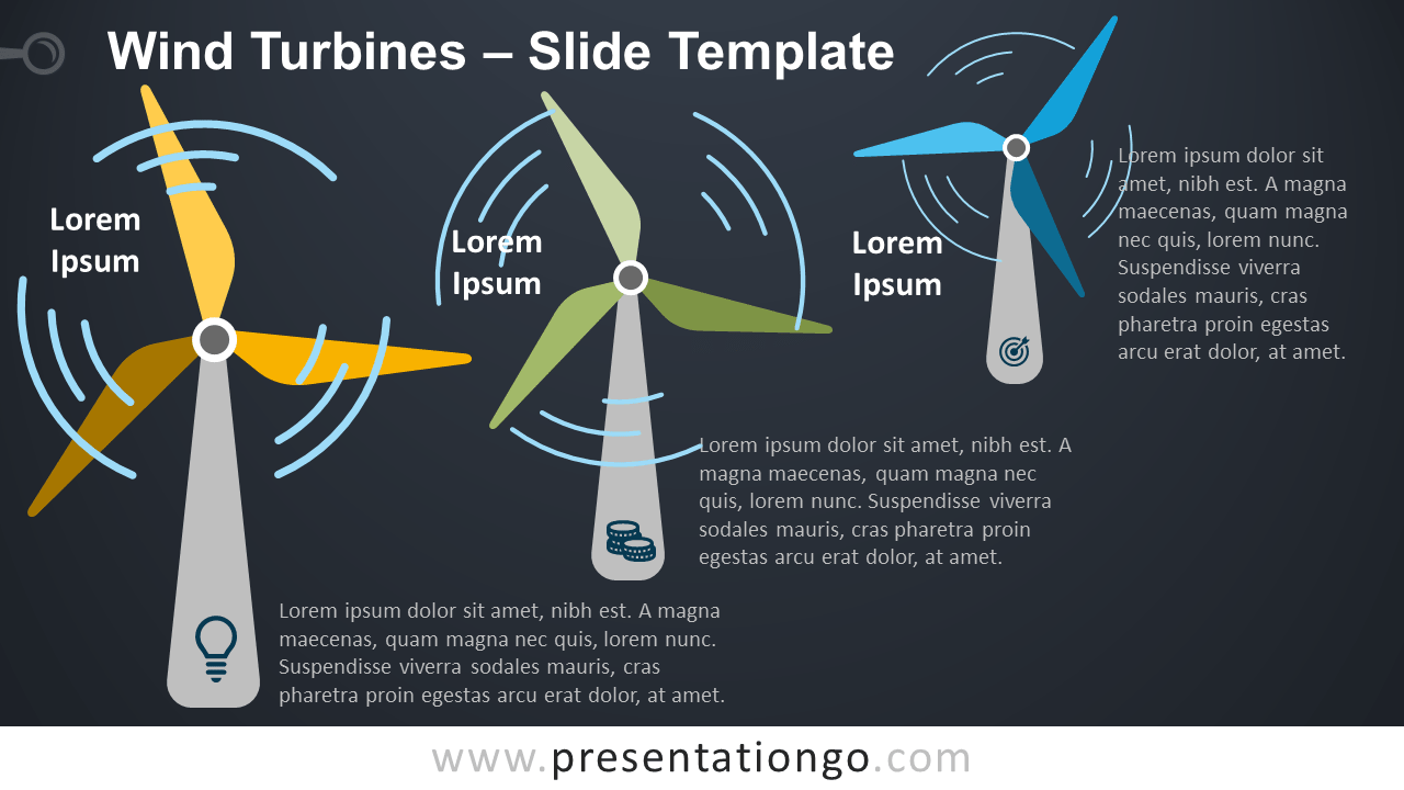 Free Wind Turbines Template