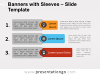 Free Banners with Sleeves PowerPoint Template