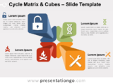 Free Cycle Matrix and Cubes Slide Template