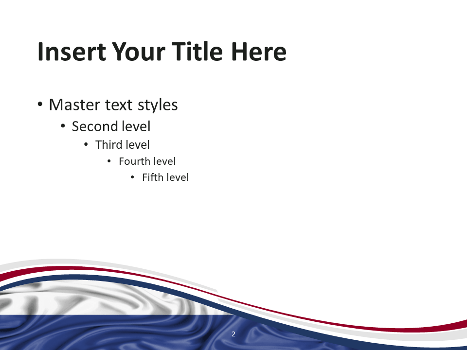 Netherlands Flag PowerPoint Template - Slide 2