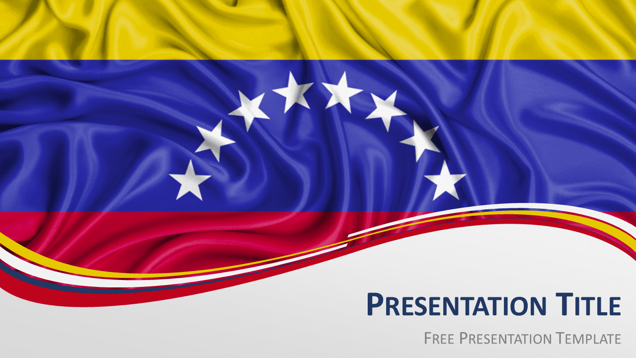 Free Venezuela Flag PowerPoint and Google Slides Template