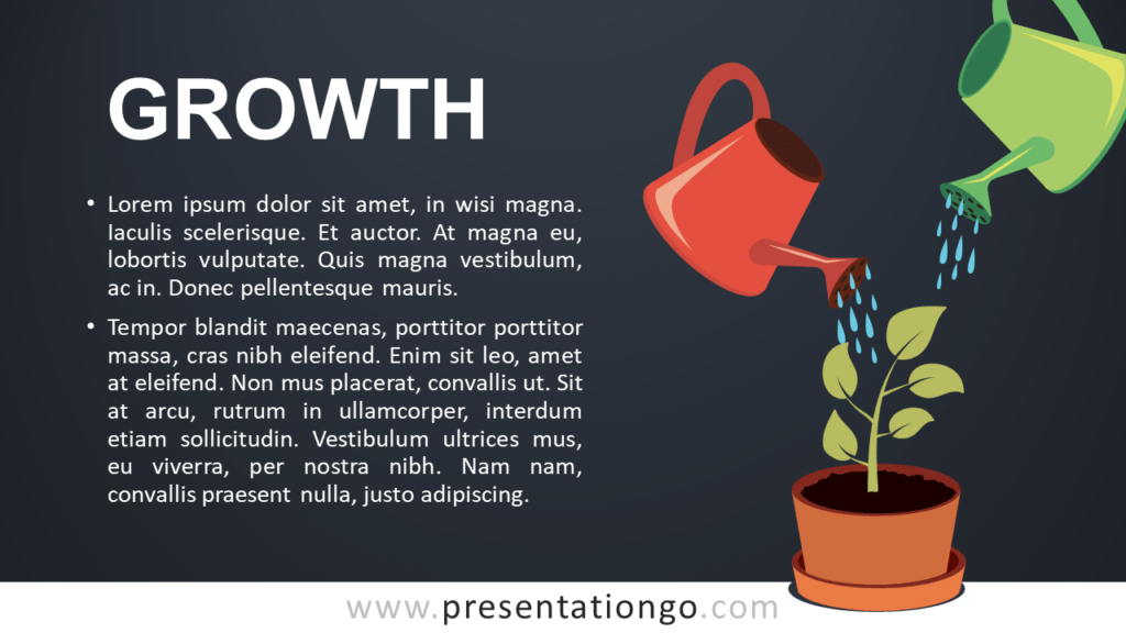Growth - Metaphor Template for PowerPoint