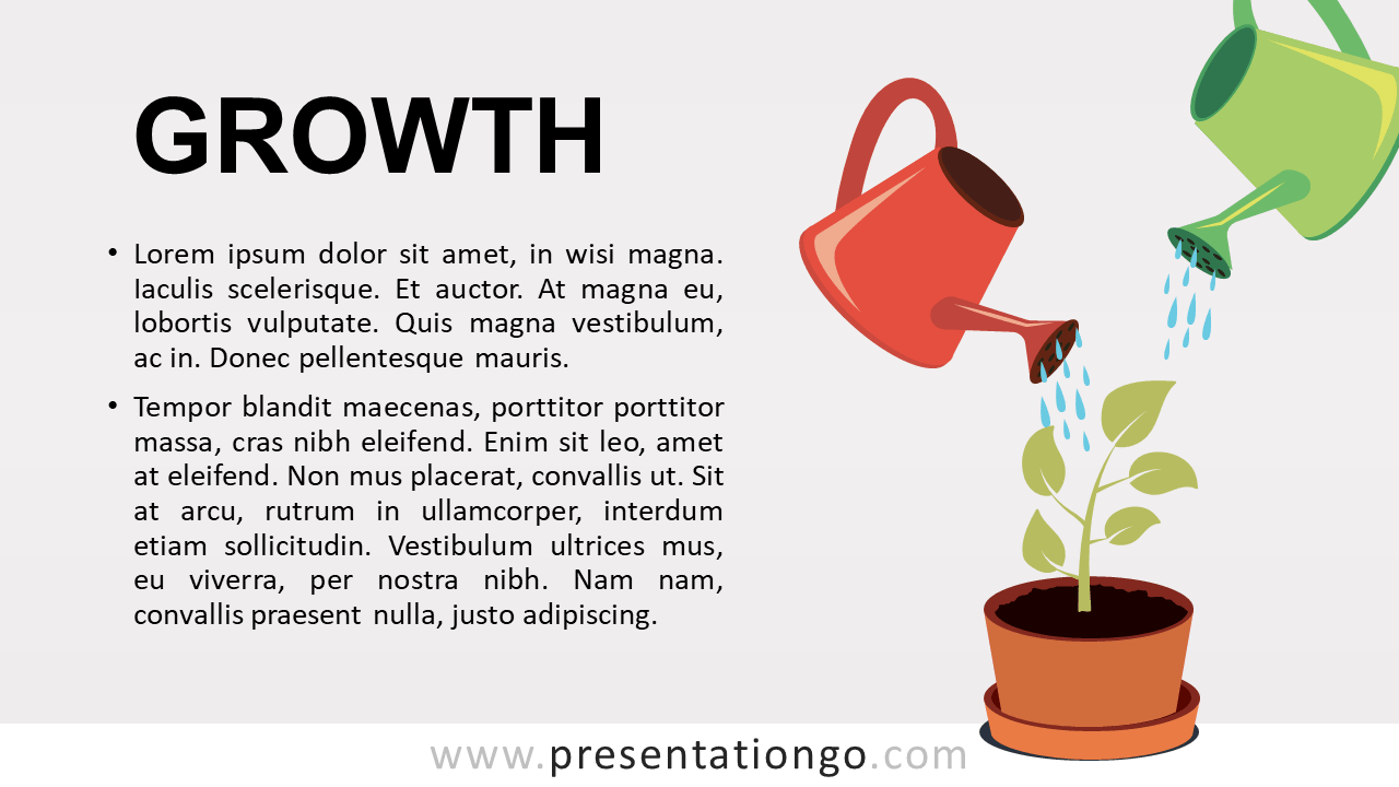Growth - Metaphor Template for PowerPoint and Google Slides