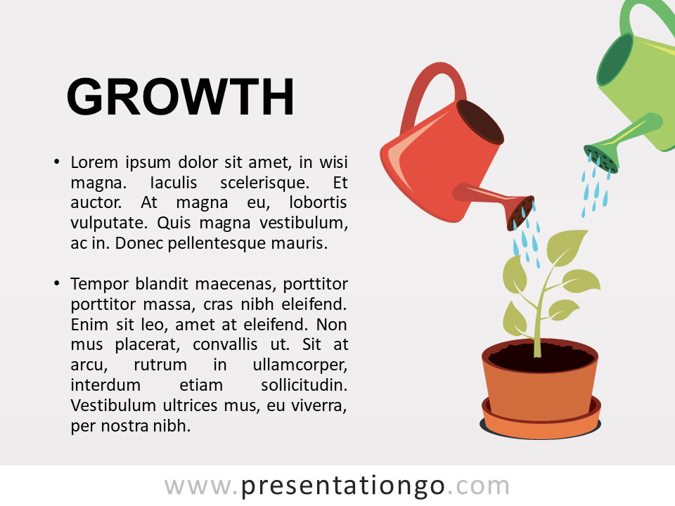 Growth - Metaphor Template