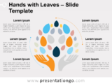 Free Hands and Leaves Slide Template