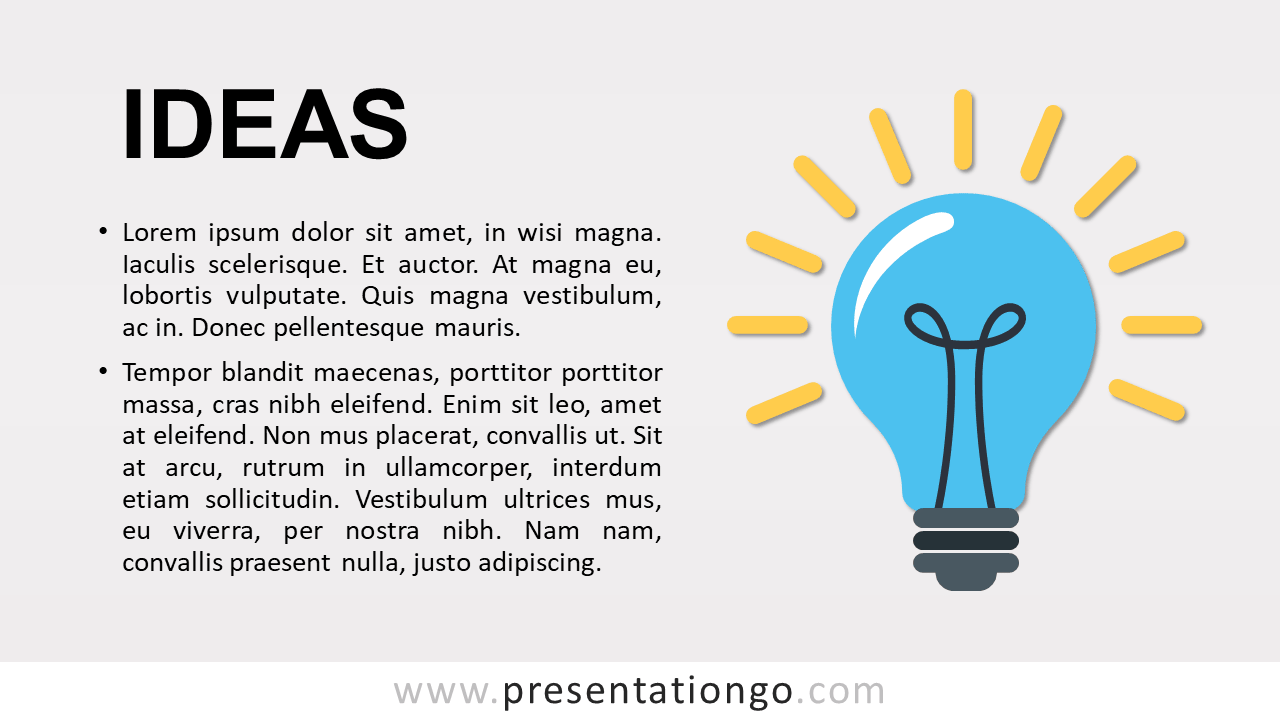 Ideas - Concept Template for PowerPoint and Google Slides