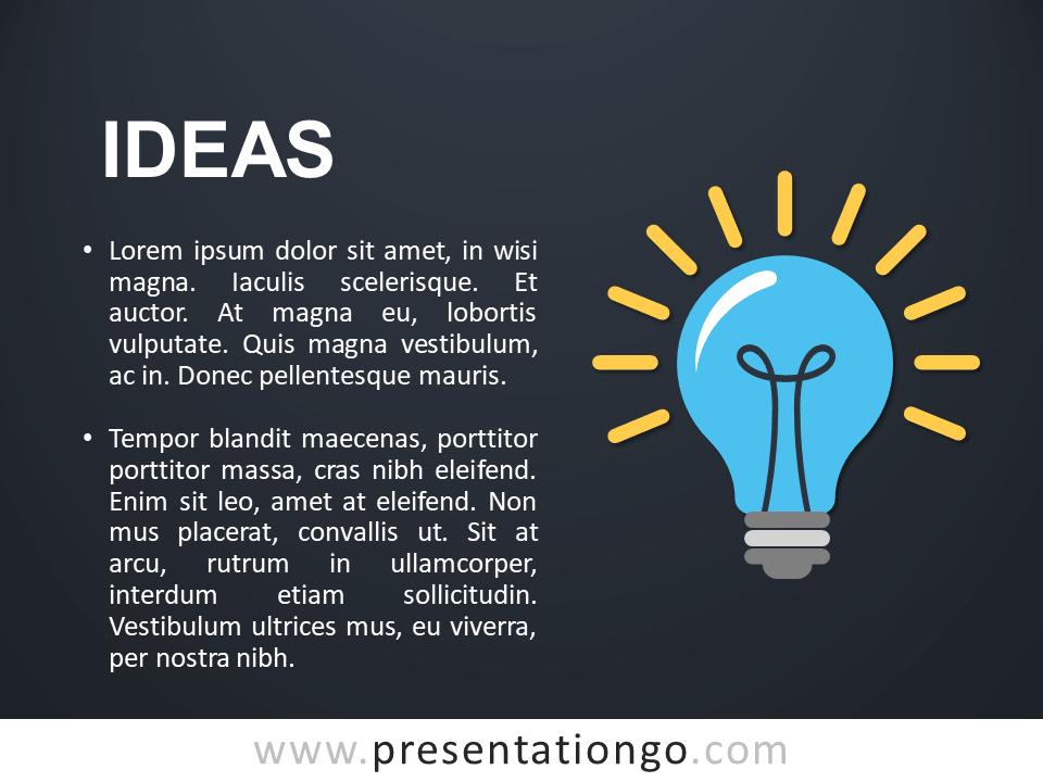 Ideas Concept Template