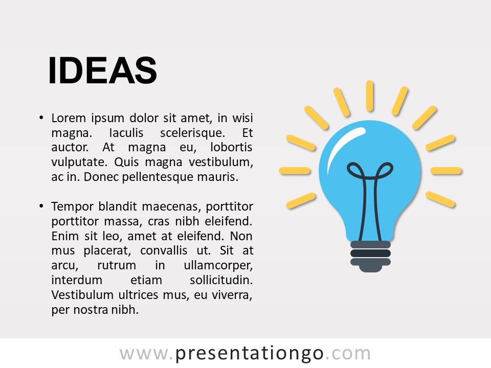 Ideas - Metaphor Concept Template