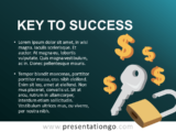 Key to Success - Template for PowerPoint and Google Slides