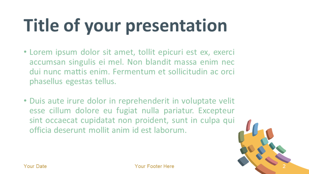 Free Modern Abstract Template for PowerPoint and Google Slides - Slide 2
