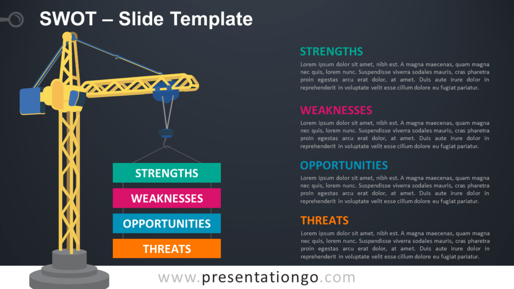Free SWOT PowerPoint and Google Slides Template