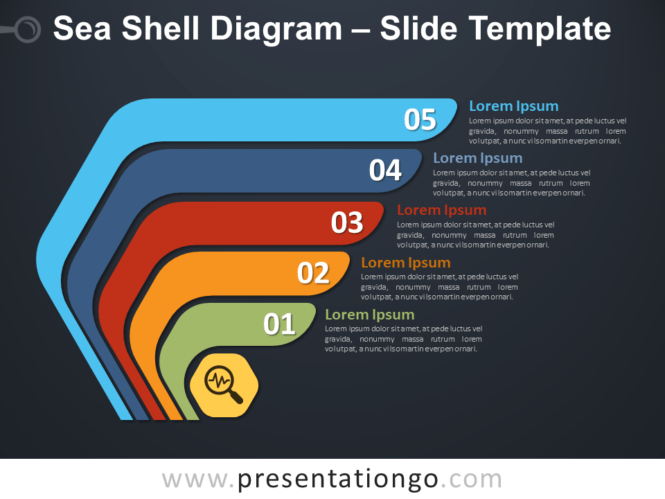 Free Sea Shell Diagram Template
