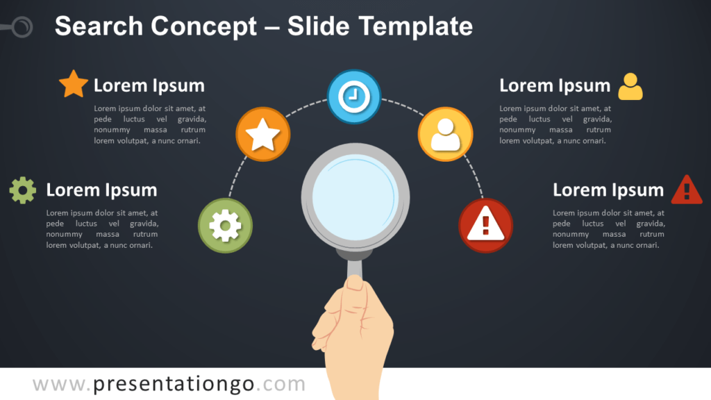 Free Search Concept for PowerPoint