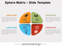 Free Sphere Matrix for PowerPoint