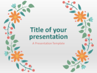 Free Spring Template for PowerPoint