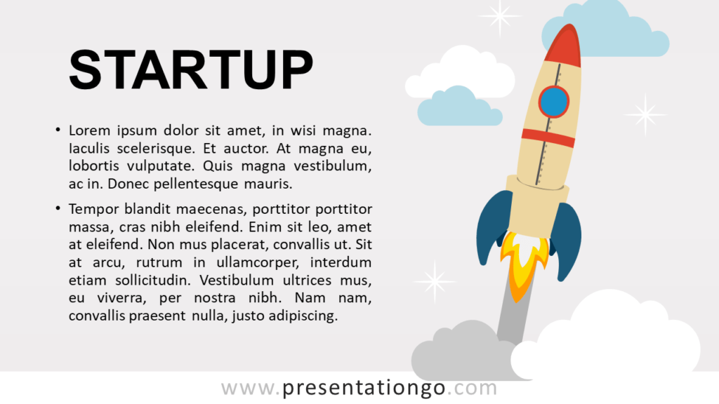 Free Startup - Metaphor Template for PowerPoint