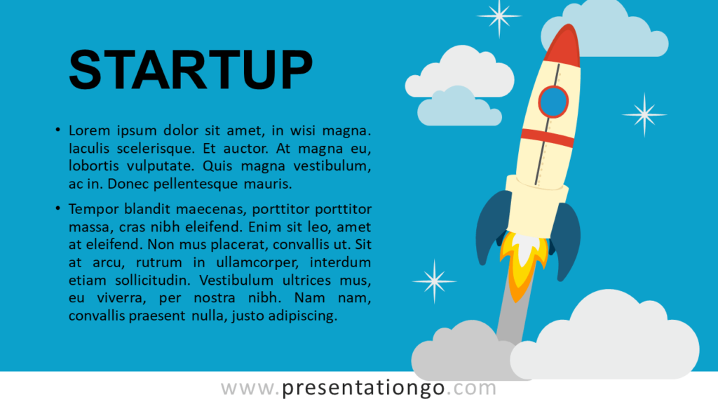 Free Startup - Metaphor Template for PowerPoint and Google Slides