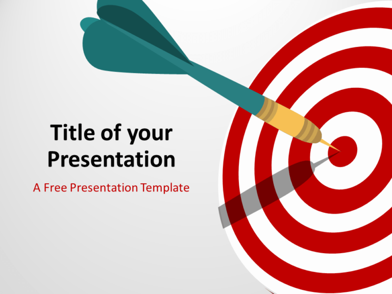 Free Target Template for PowerPoint