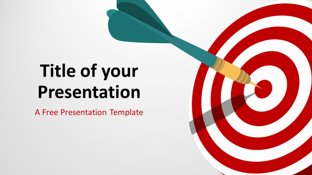 Free Target Template for PowerPoint and Google Slides