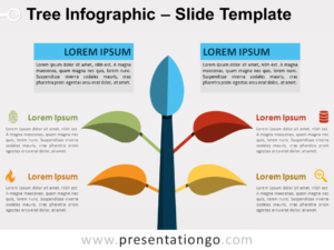 Free Tree Infographic for PowerPoint