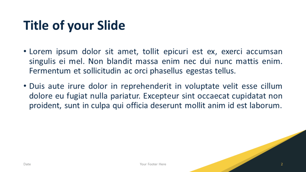 Free Abstract Modern Template for PowerPoint and Google Slides - Slide 2