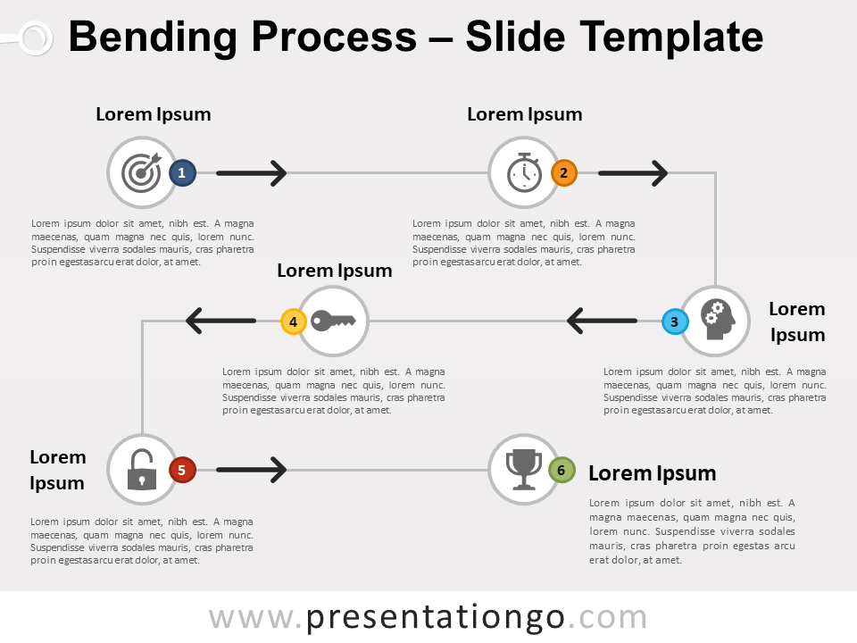 Free Bending Process for PowerPoint