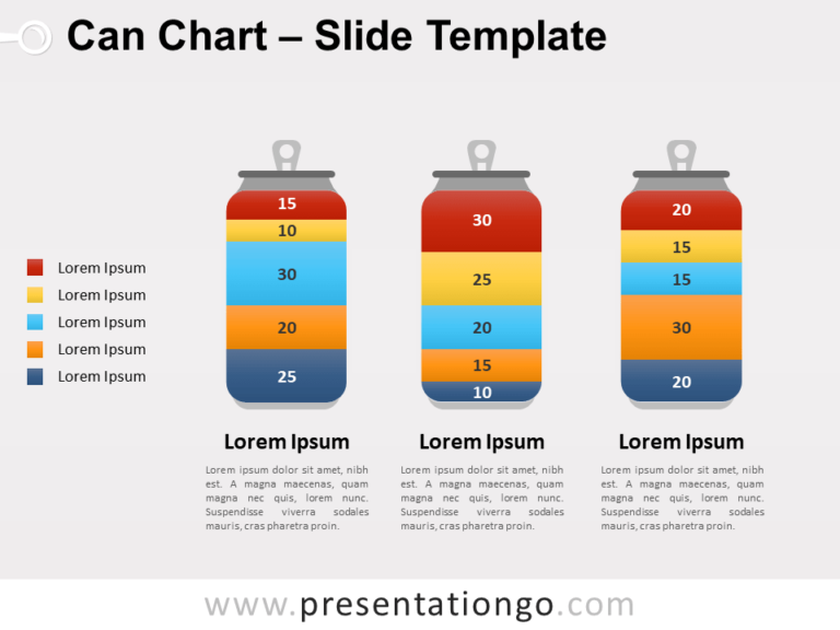 Free Can Chart for PowerPoint