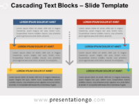 Free Cascading Text Blocks for PowerPoint