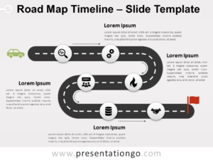 Free Road Map Timeline for PowerPoint