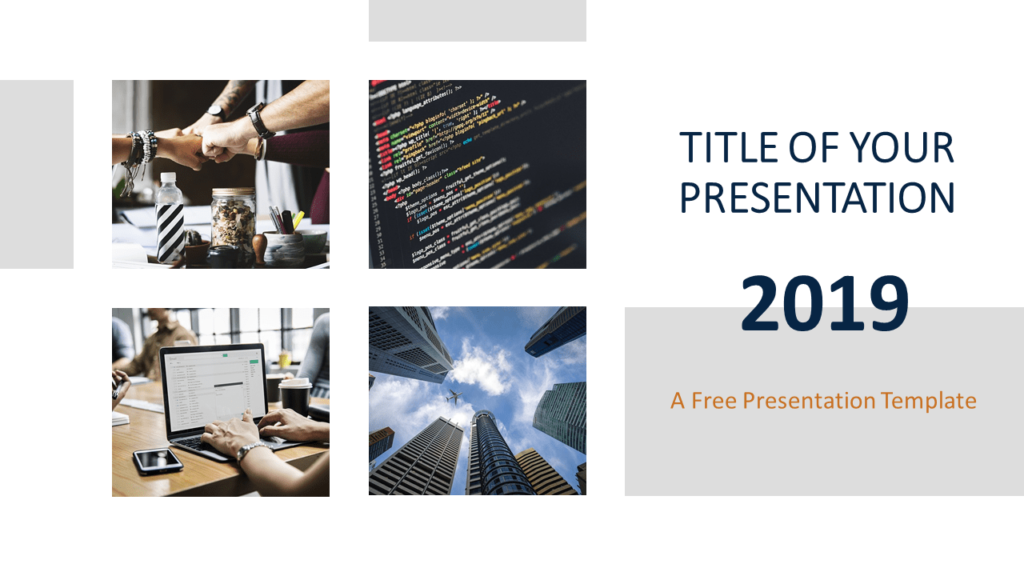Free Business Report Template for PowerPoint and Google Slides