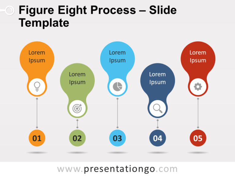 Free Figure-Eight Process for PowerPoint