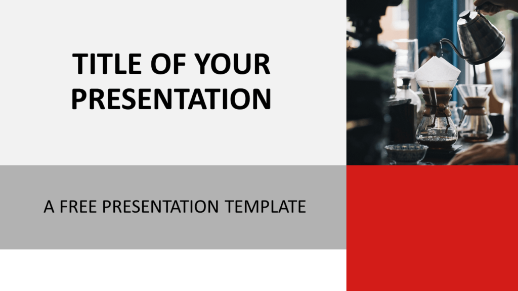 Free Modern Business Template for PowerPoint and Google Slides