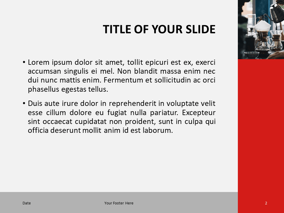 Modern Business Template for PowerPoint - Slide 2