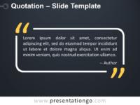 Free Quotes Powerpoint Templates Presentationgo Com