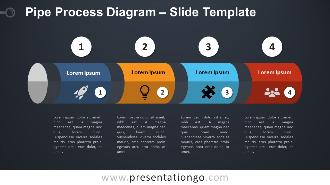 Pipe Process - Free PowerPoint and Google Slides Template