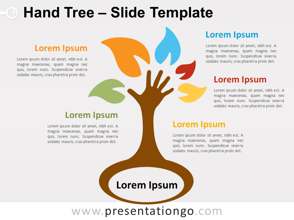 Free Hand Tree for PowerPoint